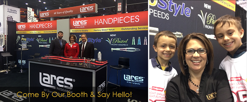 Visit us at the Lares booth